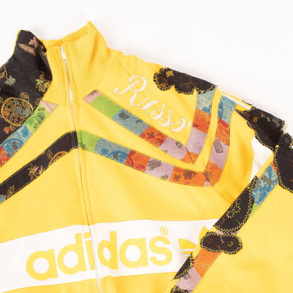 Adidas Custom Russo Patchwork Track Jacket