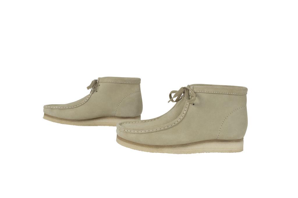 Men's Wallabee Boot- Maple Suede