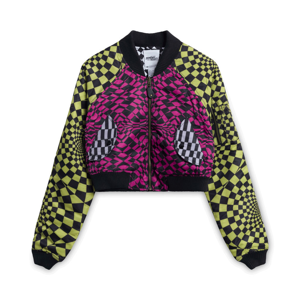 Adidas Originals Jeremy Scott Checkered Jacket