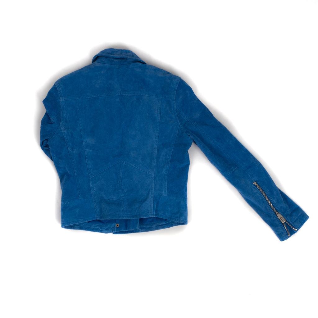 SL8 Blue Suede Jacket