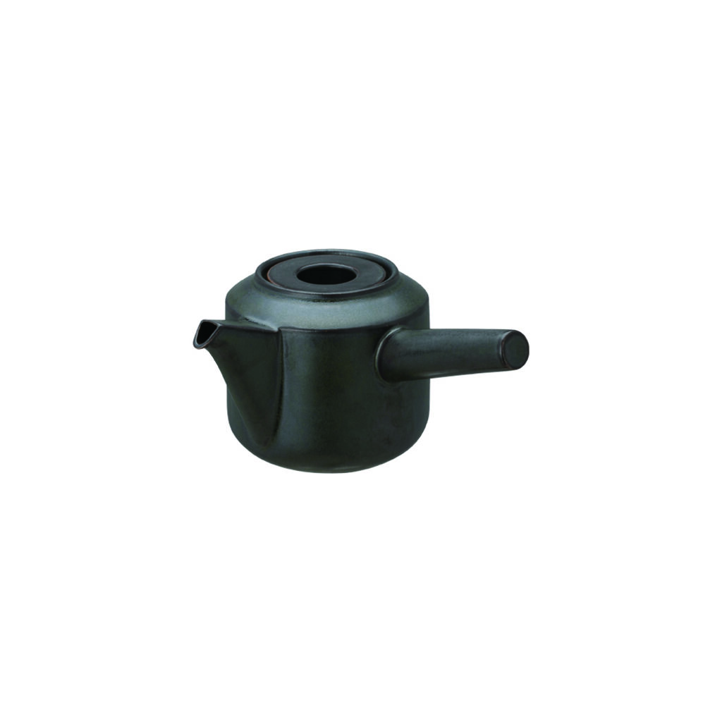 LT Kyusu Teapot (300ml) - Black