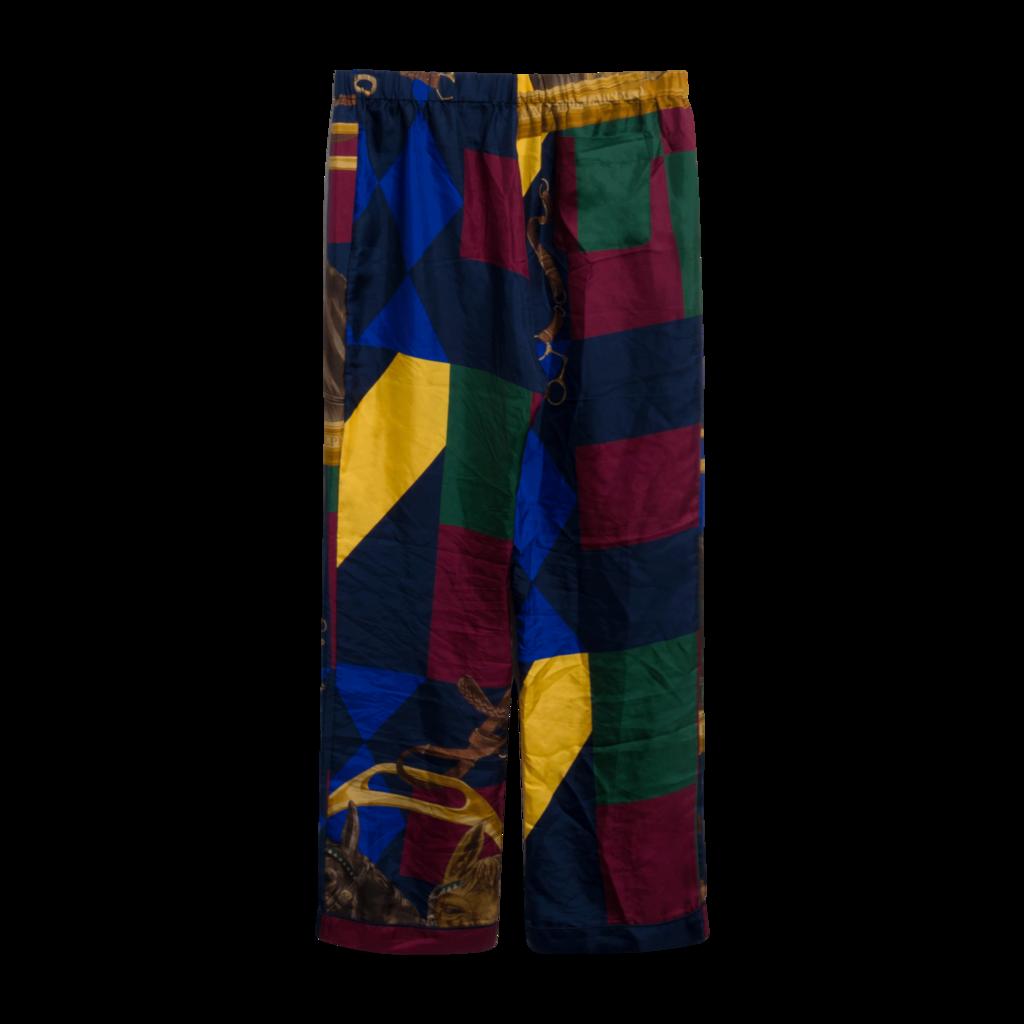 Palace x Polo Ralph Lauren Equestrian Print Silk Pants