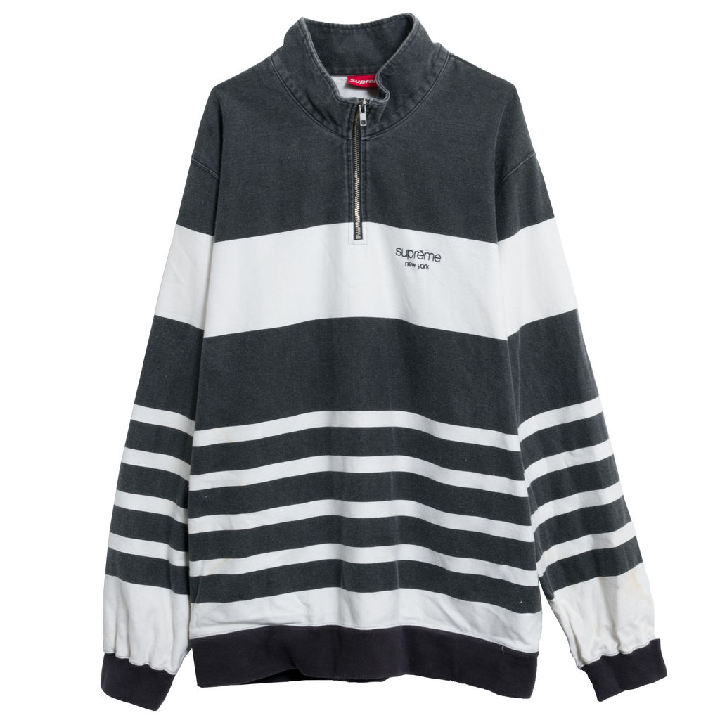 Supreme Washed Quarter-Zip Sweatshirt