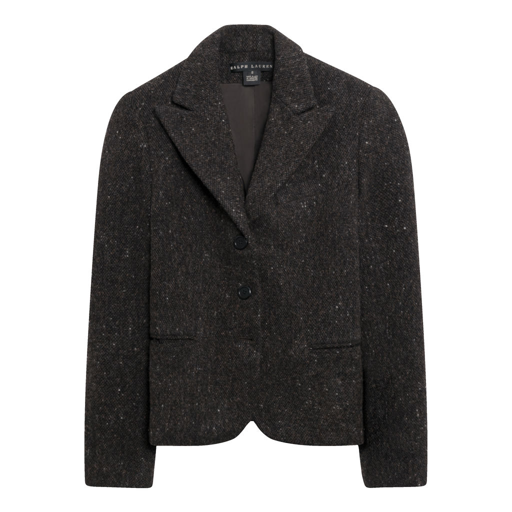 Ralph Lauren Wool Blazer in Brown