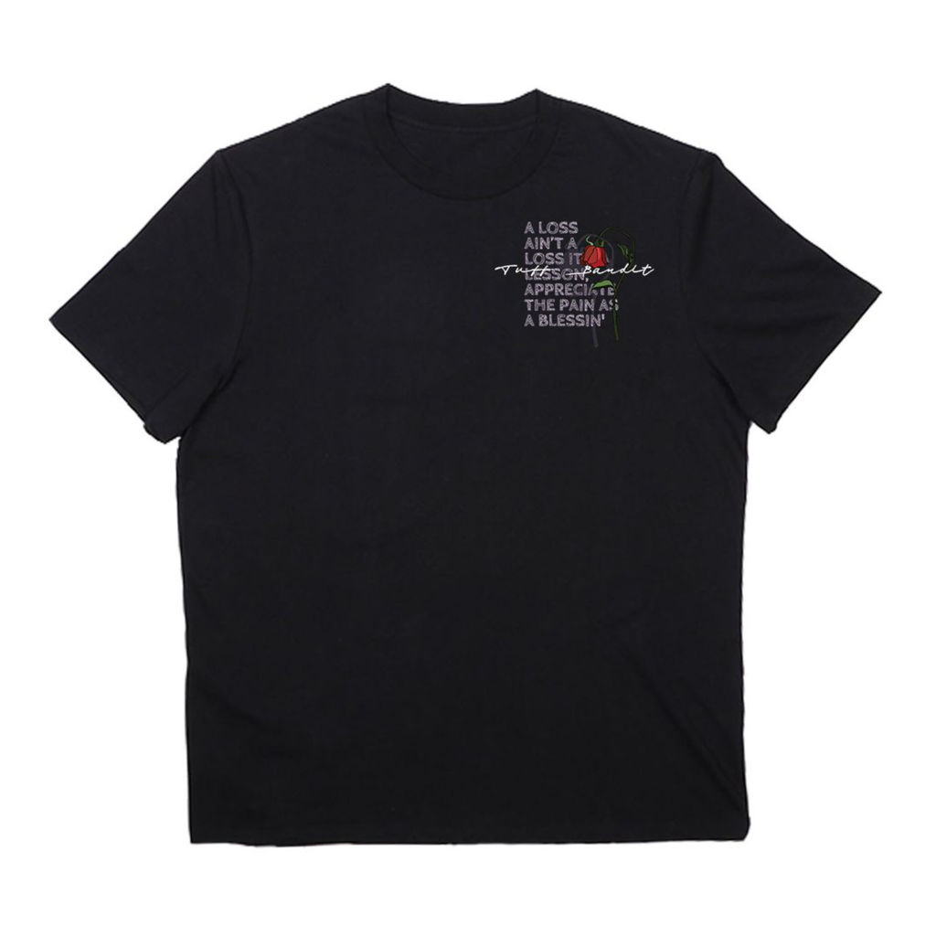 Tuff Bandit Black Loss Ain't a Loss T-Shirt
