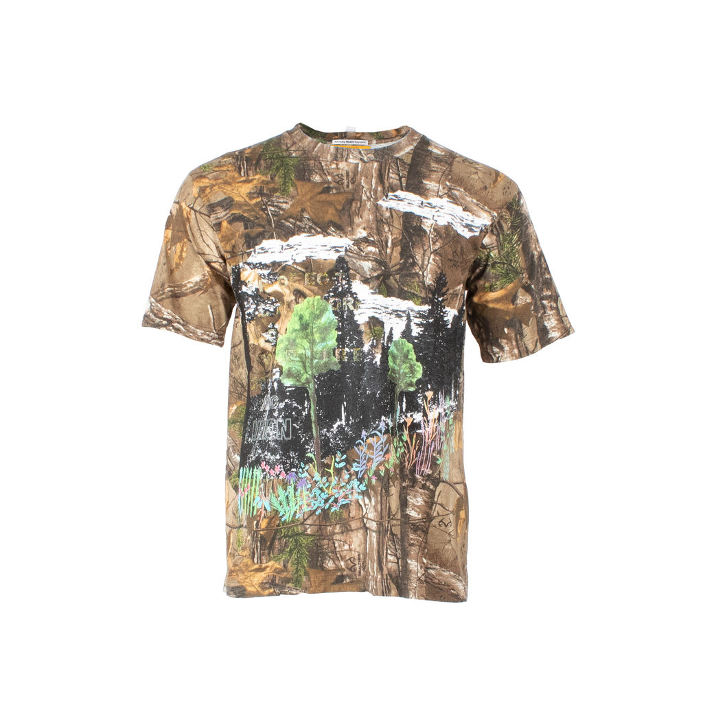 "Advisory Board Crystals x Union LA ""Wildfire"" Camo T-Shirt"