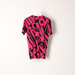 Diamond Supply Co Pink and Black T-shirt curated by Samii Ryan
