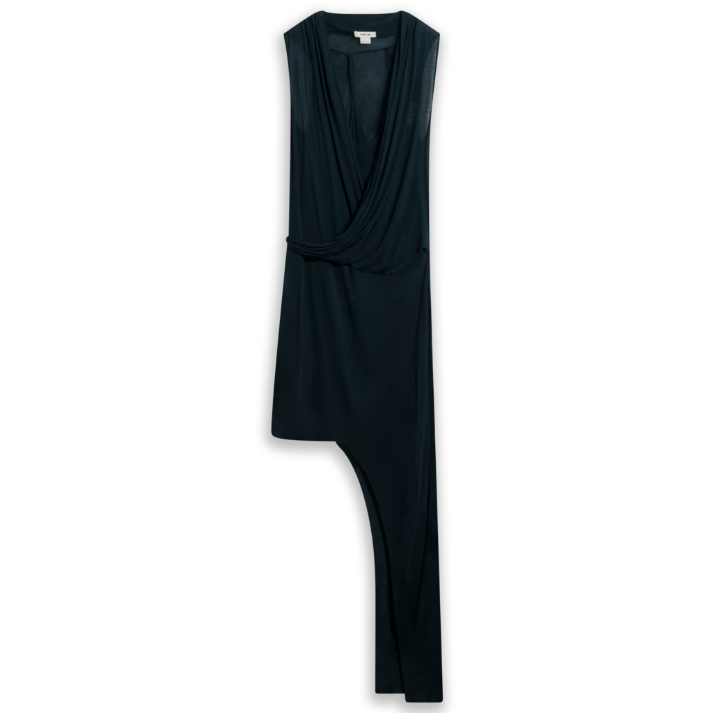 Helmut Lang Long Slack Jersey Modal Dress