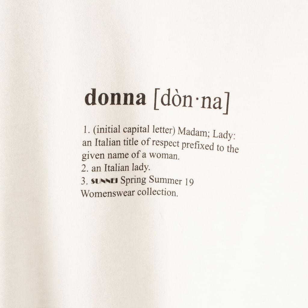 Sunnei Donna Tee