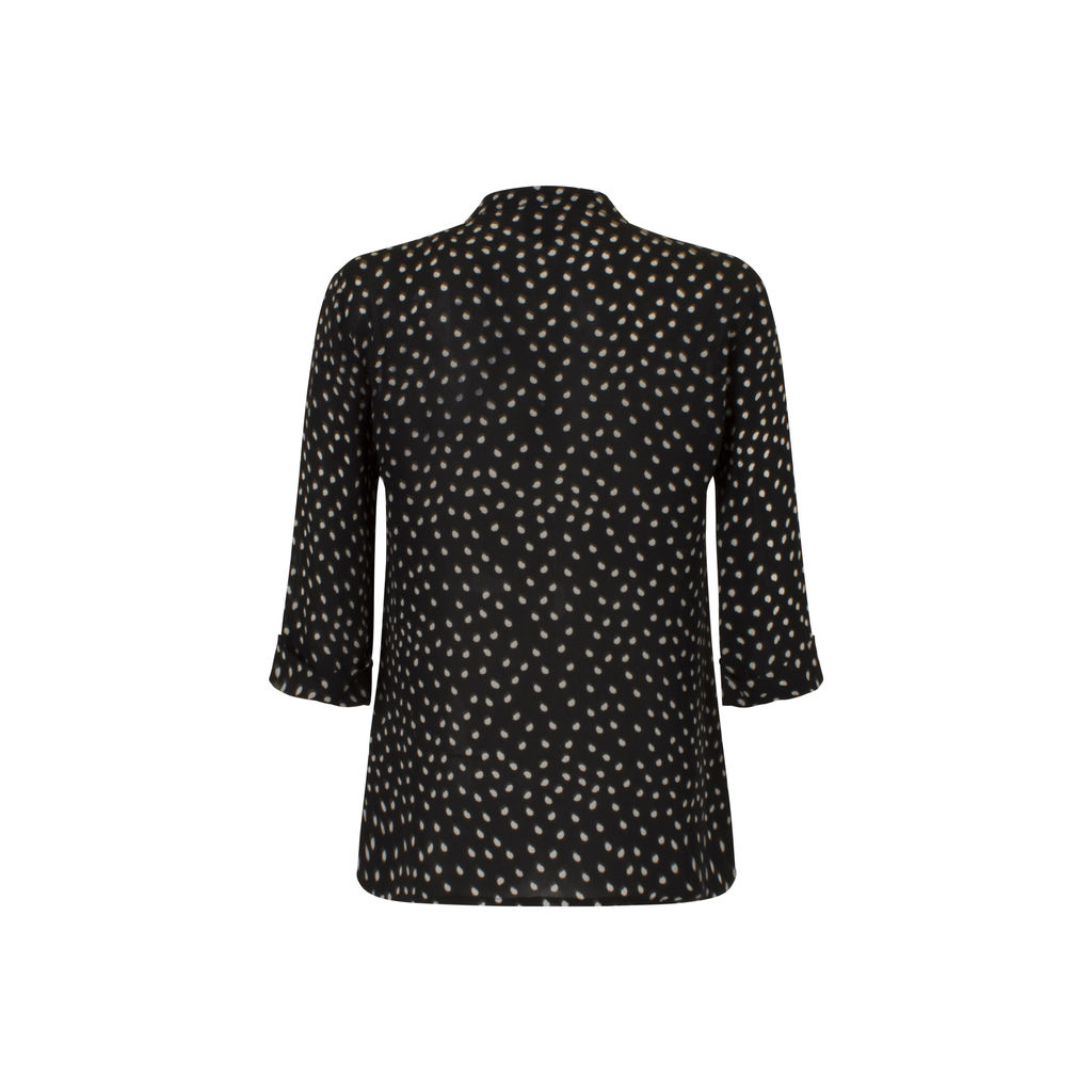 Gemma Exclusively For Barneys New York Polka Dot Blouse
