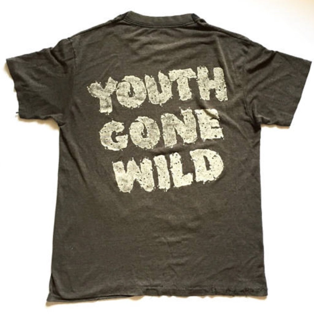 """Vintage 1989 Skid Row """"Youth Gone Wild"""" Tour Rock Shirt  curated by Scott Hopkins"""