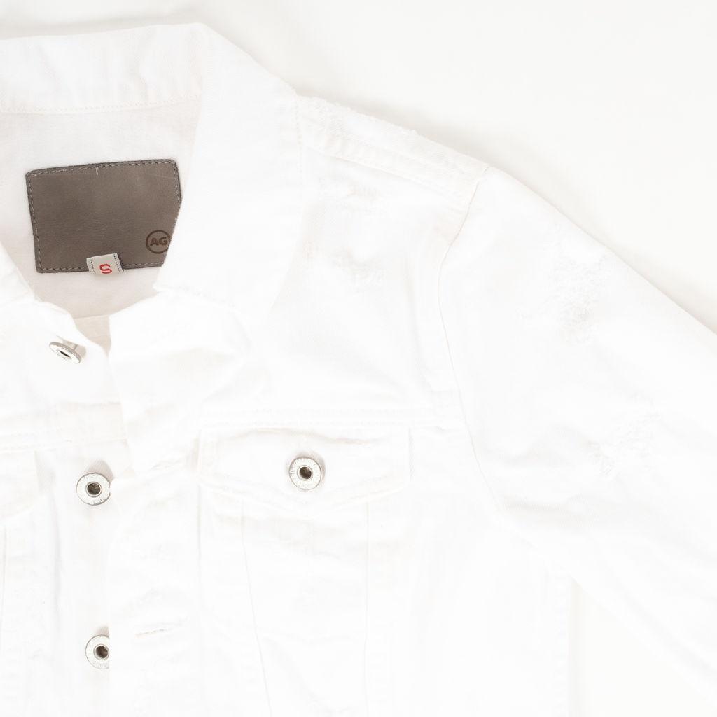 AG Adriano Goldschmied Cropped Denim Jacket