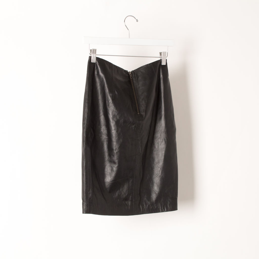 Jaggar Leather Skirt