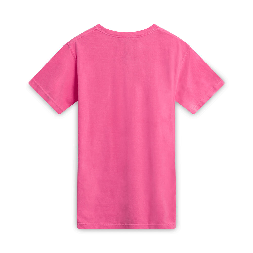 Rasta Don't Work For No CIA T-Shirt - Hot Pink