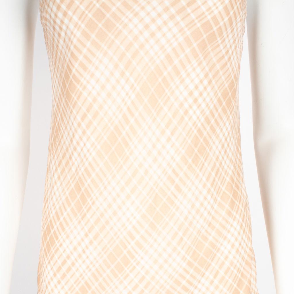 Privacy Please Plaid Midi Dress