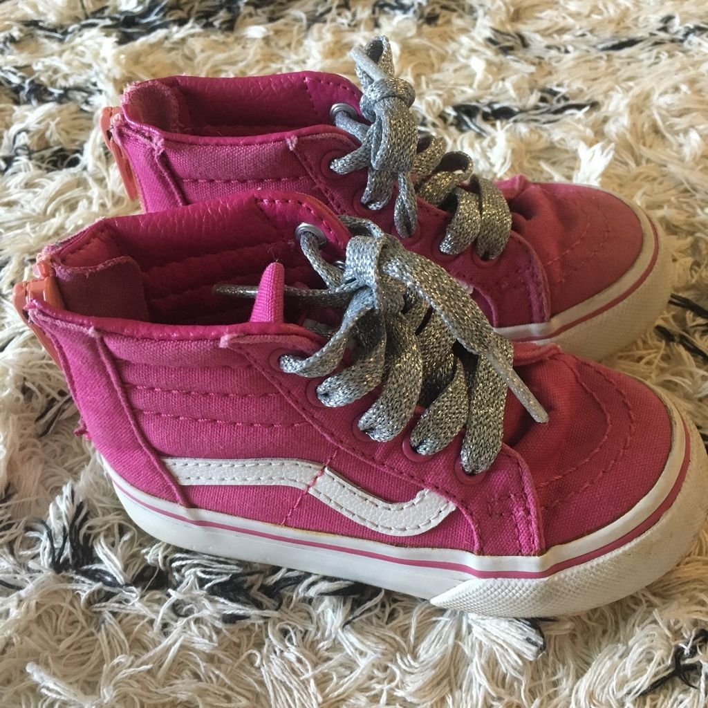 Bright Pink Vans  curated by Erica Hass
