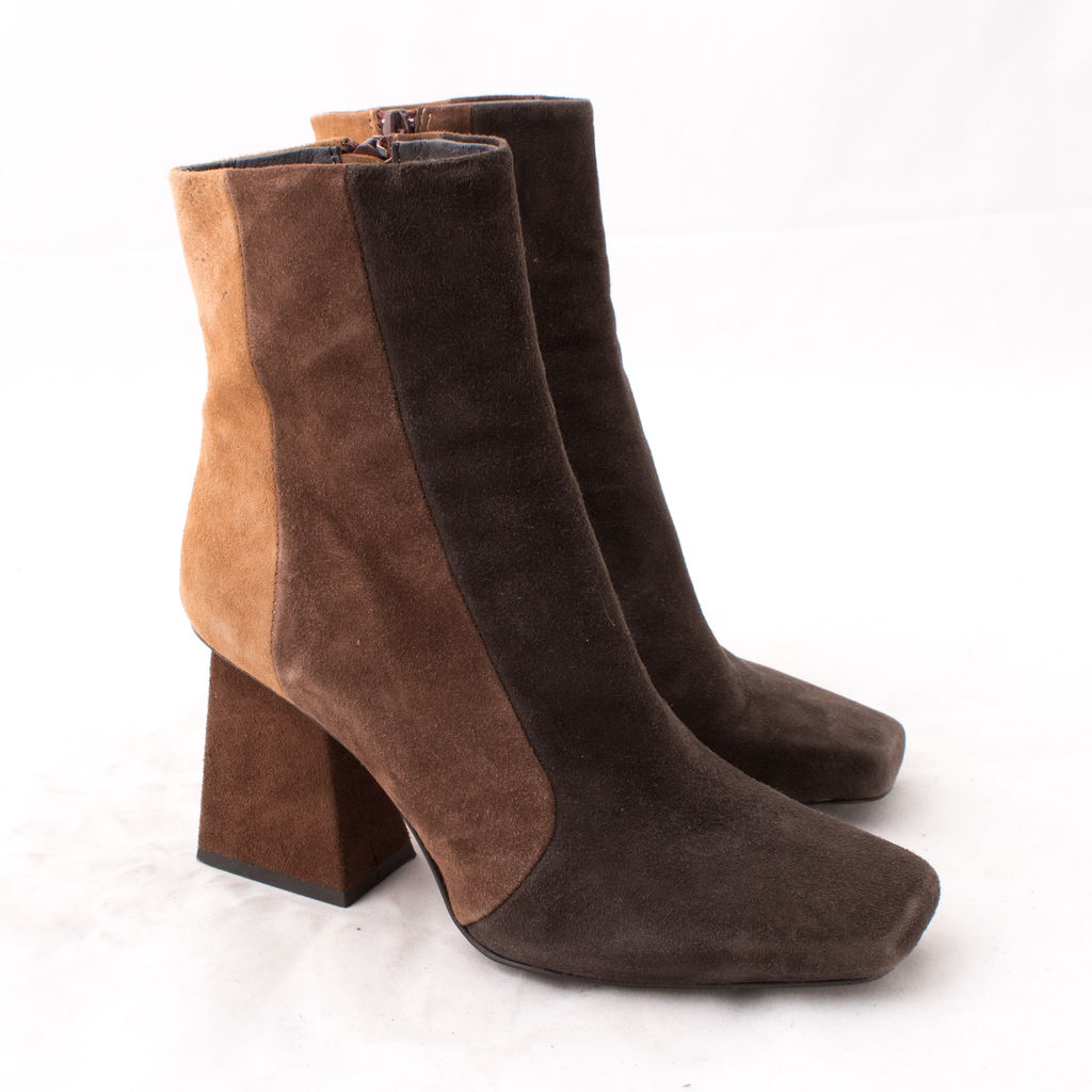 Jeffrey Campbell Suede Panel Boot