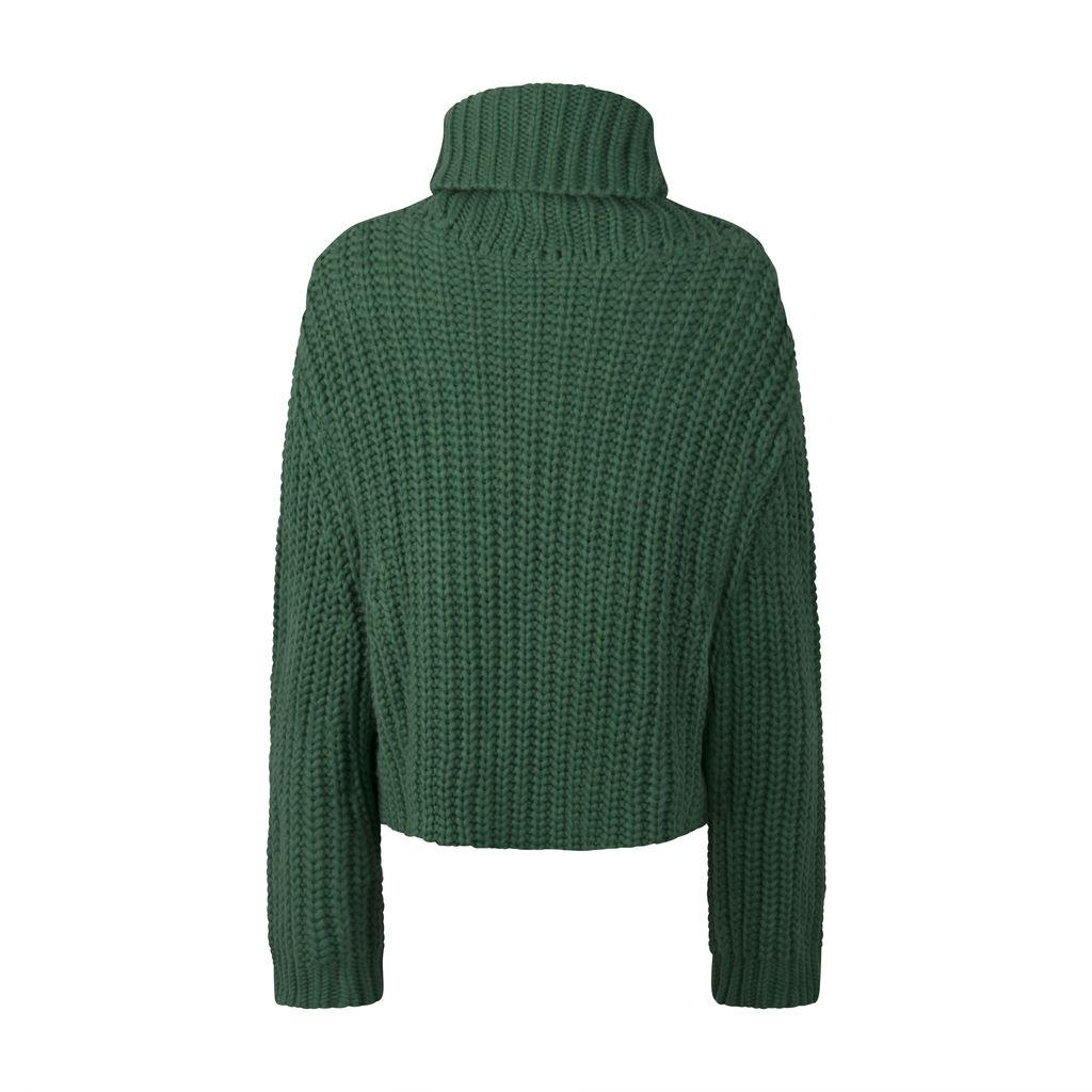 Tory Sport- Chunky Merino Turtleneck Sweater