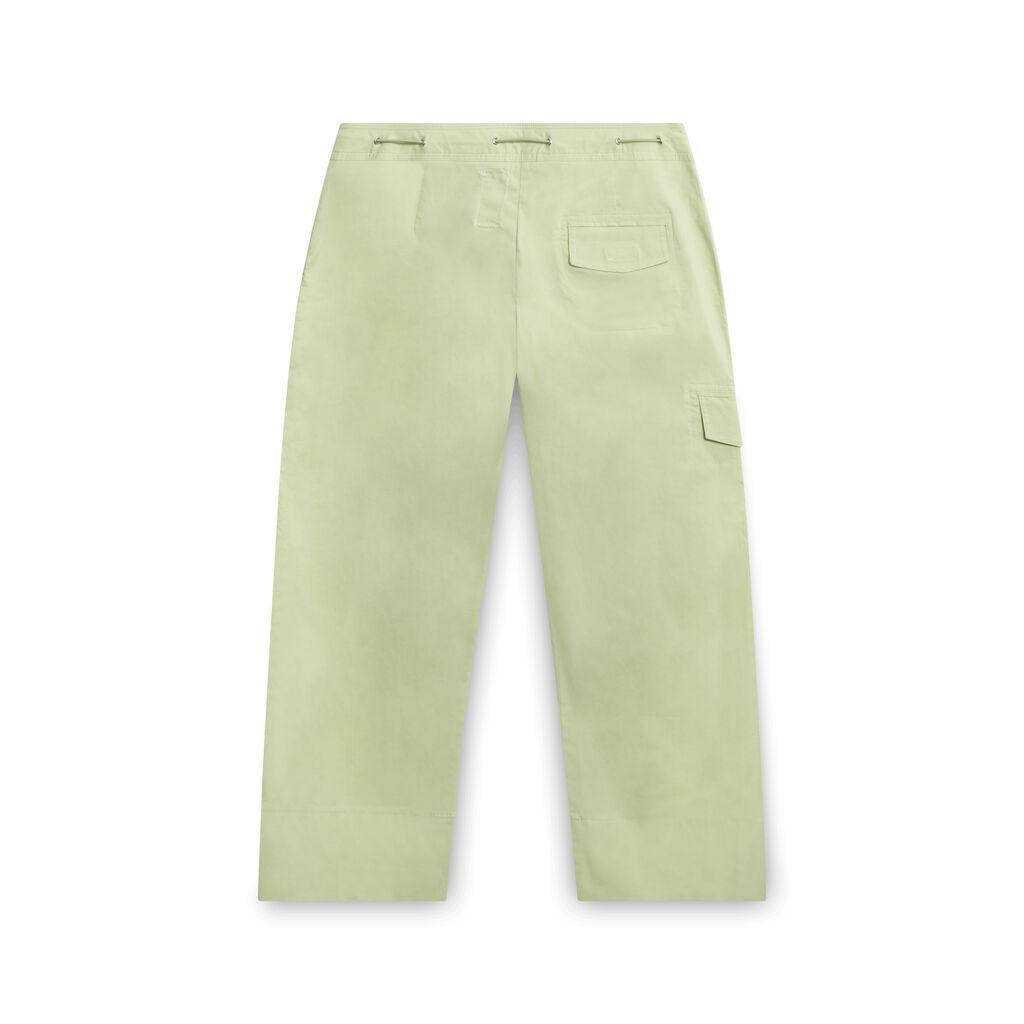 Green Paris Pants
