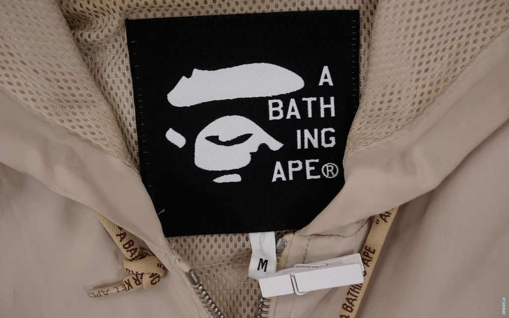 BAPE Foot Soldier Riri Rainbow Windbreaker