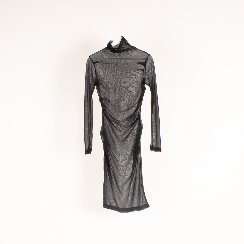 Plein Sud Mesh Long Sleeve Dress