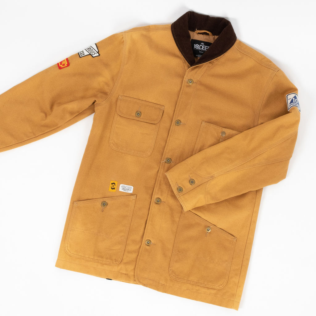 10 Deep Field Jacket with Arm Patches