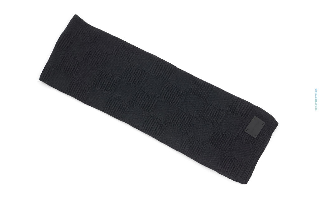 Louis Vuitton Damier Wool Knit Scarf