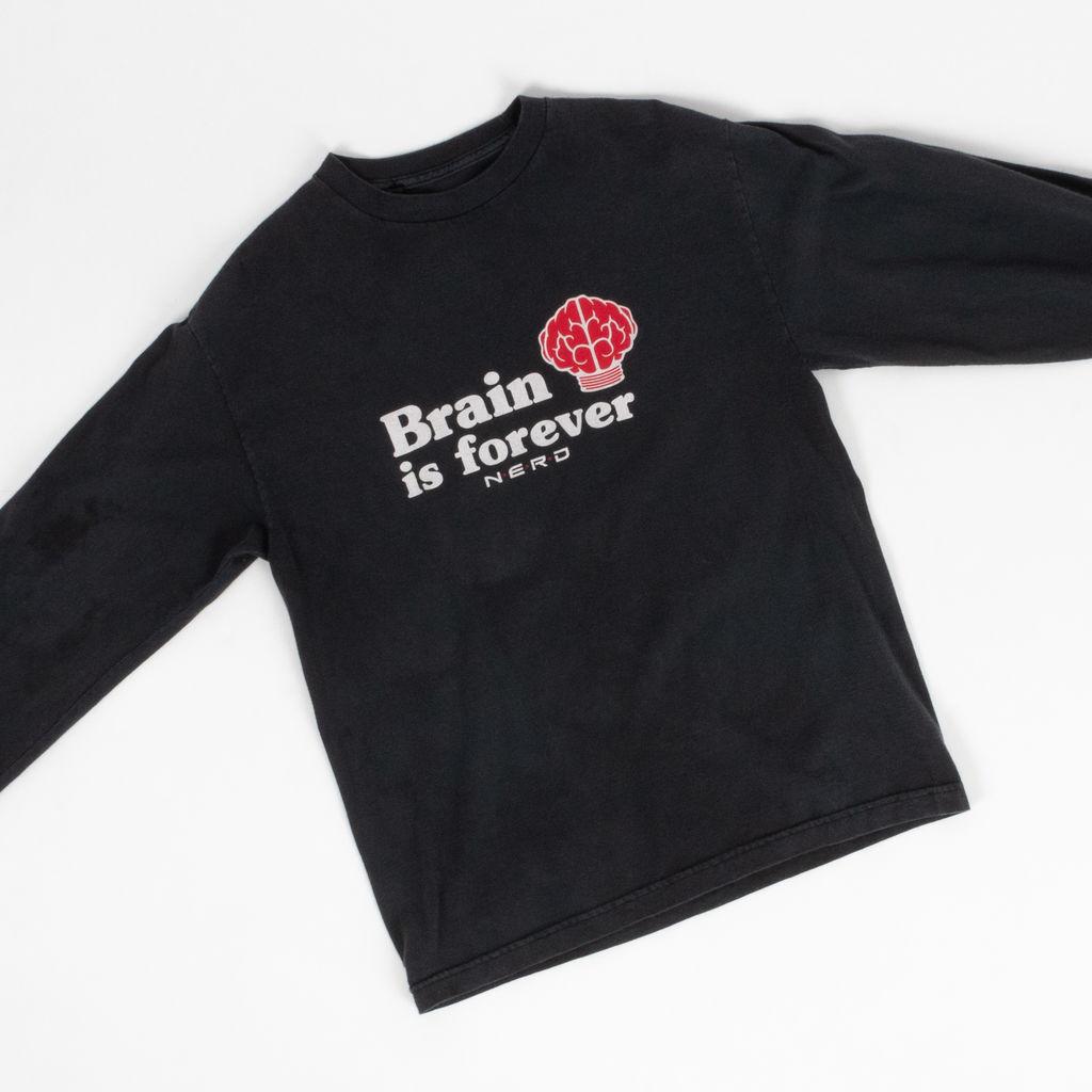 Vintage Pharrell N.E.R.D. Brain is Forever Shirt