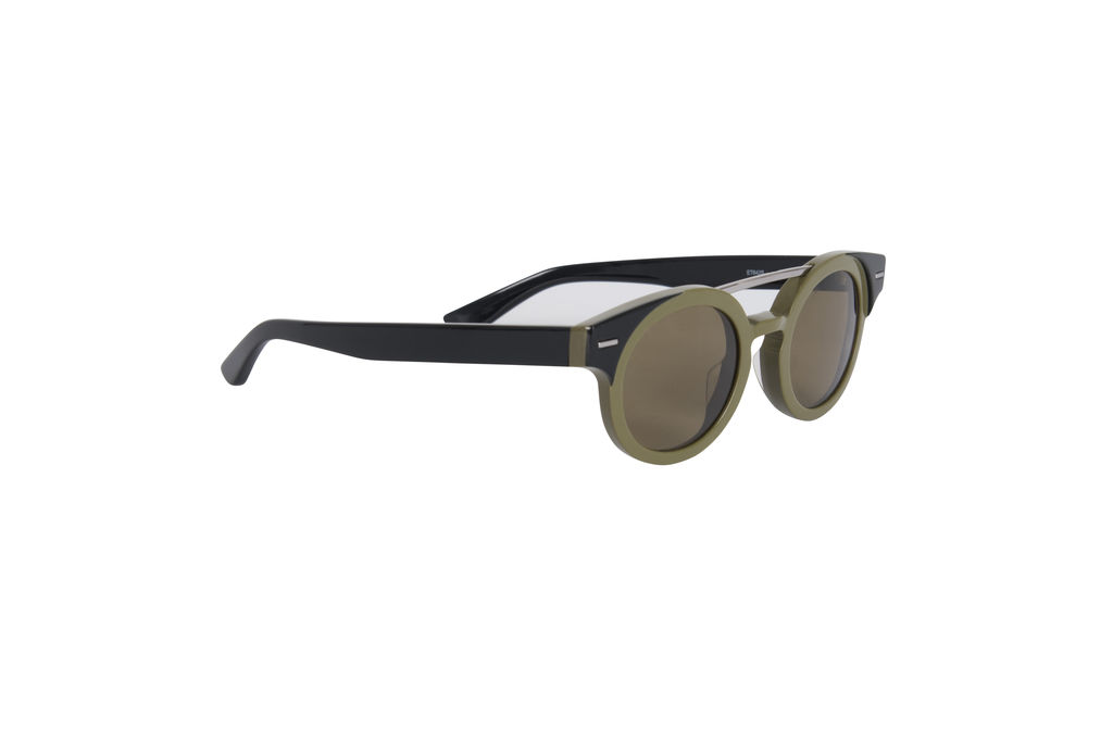 Etro Round Sunglasses- Khaki