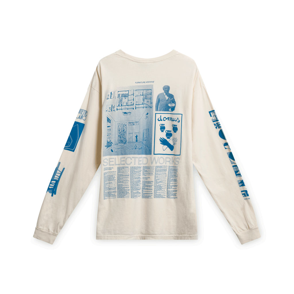 Furniture Archive Gio Ponti LS Tee by Simon Abranowicz