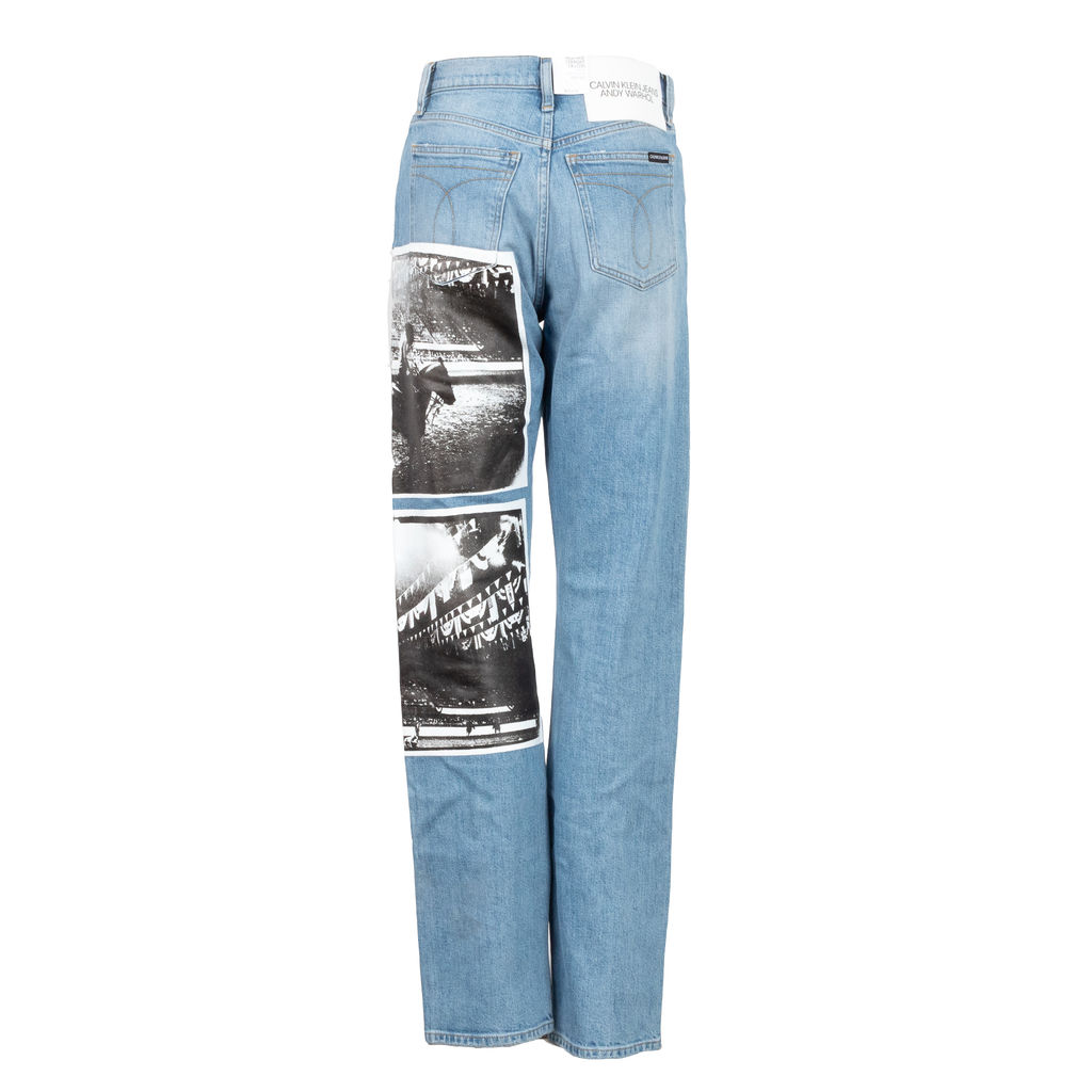 Calvin Klein Jeans x Andy Warhol High Rise Straight Jean
