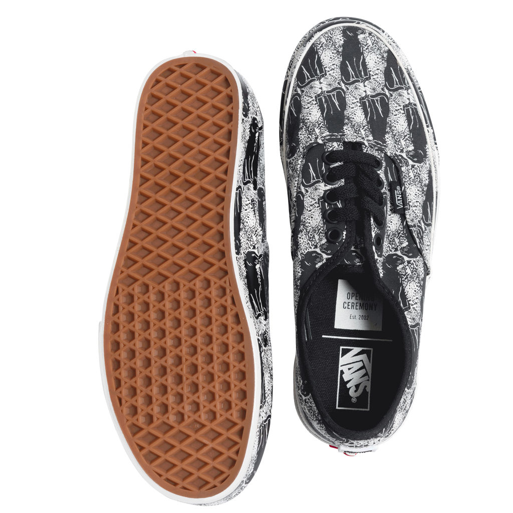 VANS X Opening Ceremony Leopard and Checkered Sneakers