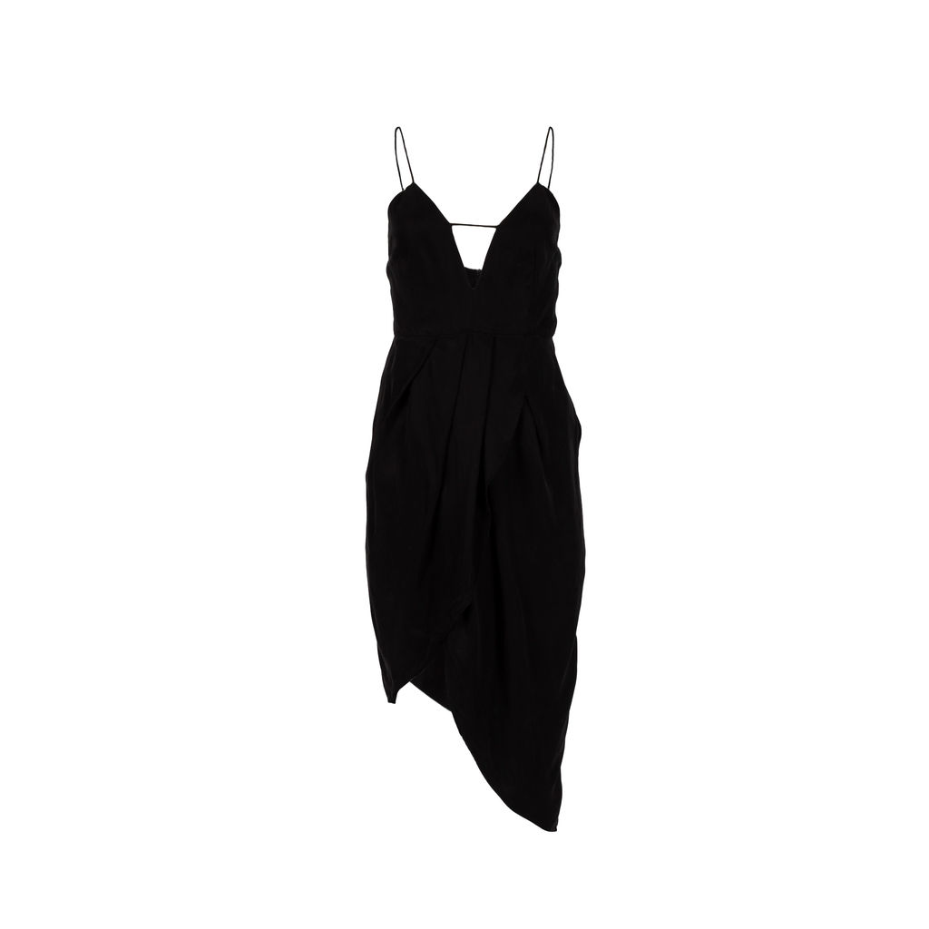 Elliatt Collective Bare Tulip Asymmetrical Dress