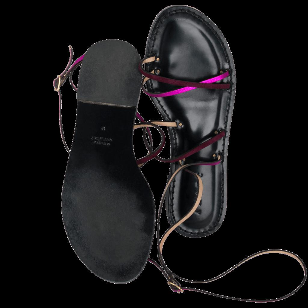 Custom Amanu Style 12 Flat Sandals