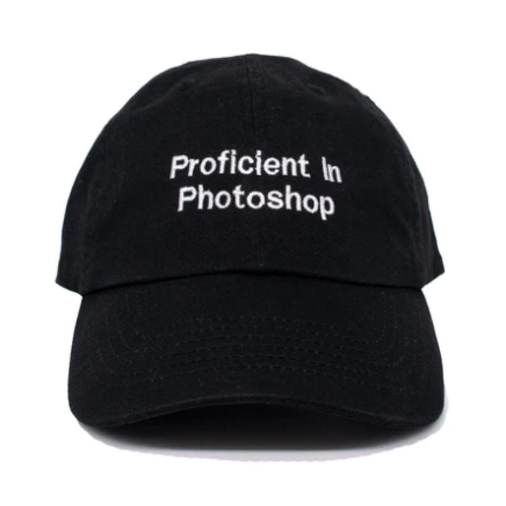 Proficient in Photoshop Cap