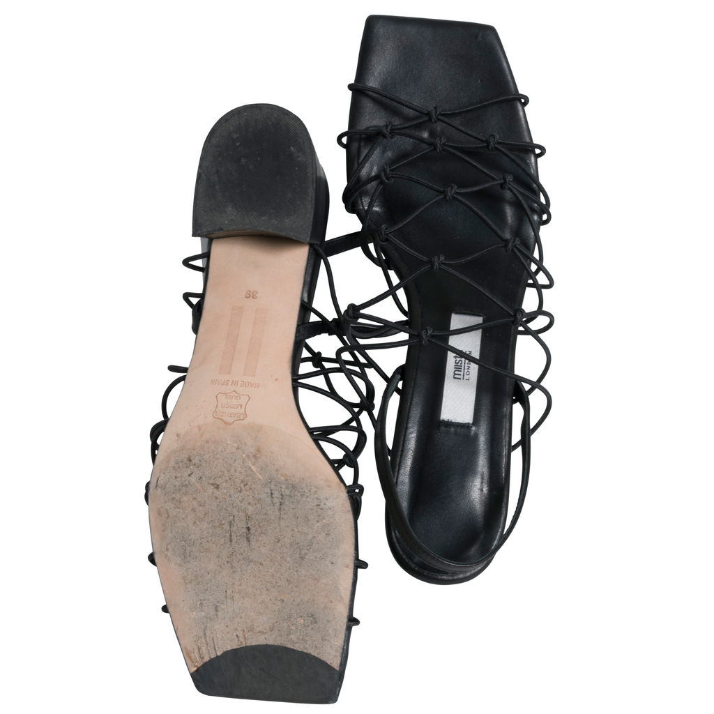 Miista Frida Black Sandals