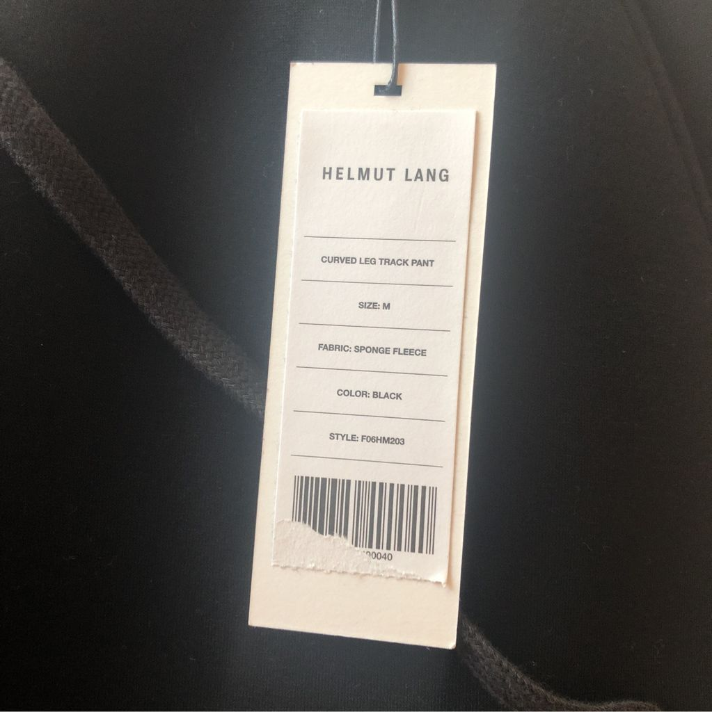 Men's Helmut Lang Track Pants