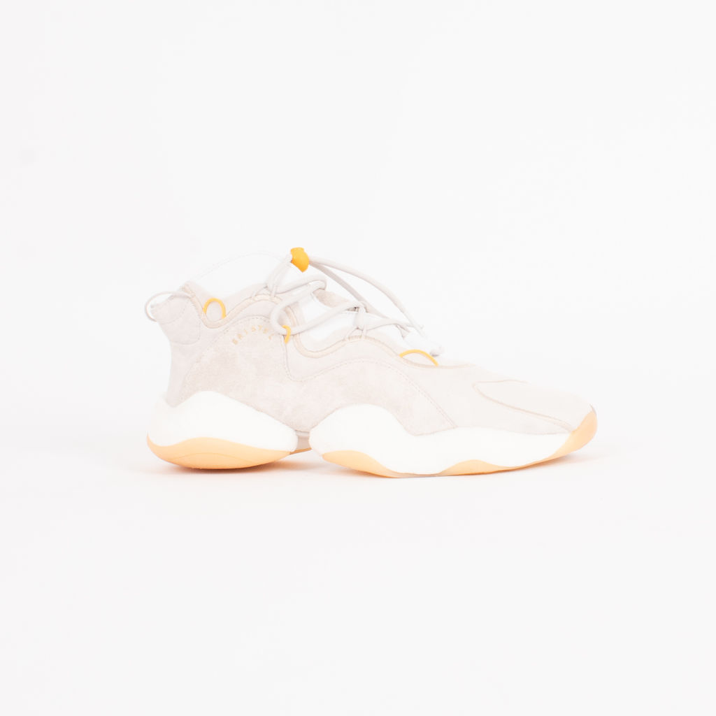 Adidas Crazy BYW LVL 1 Bristol Studio Sneakers in Off White
