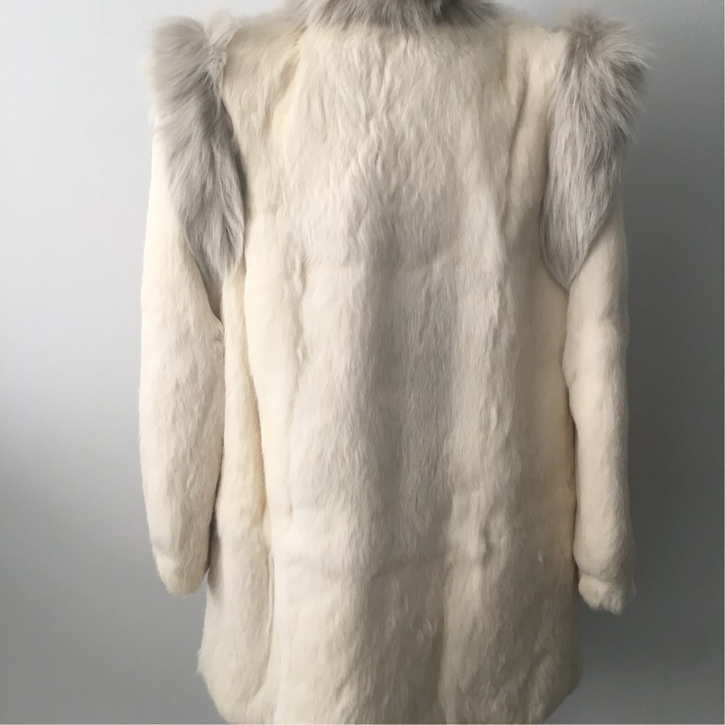 Vintage Fox & Rabbit Fur Coat curated by Erica Hass