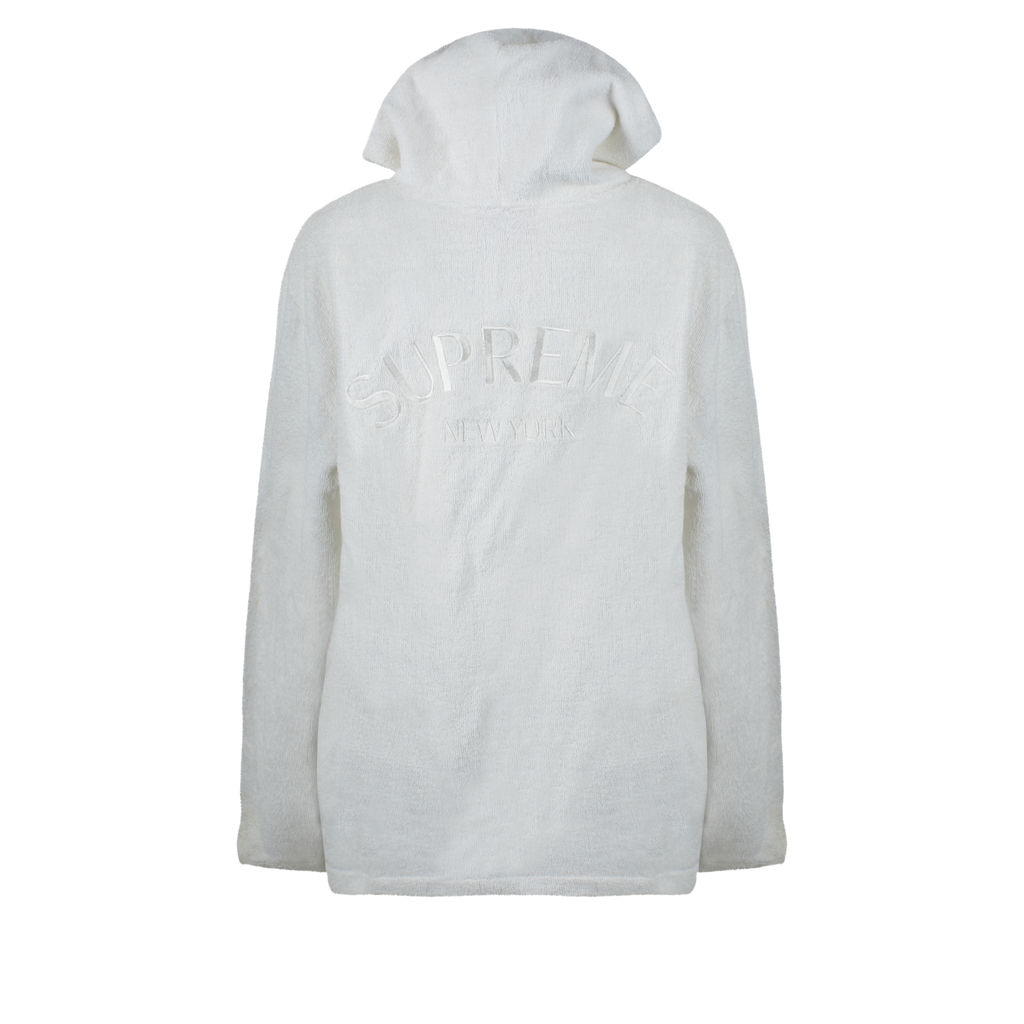 Supreme Terry Cloth Zip-Up Hoodie