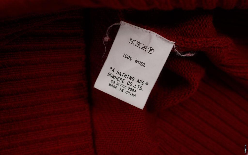 BAPE 1st Knit Shark Full Zip Sweater