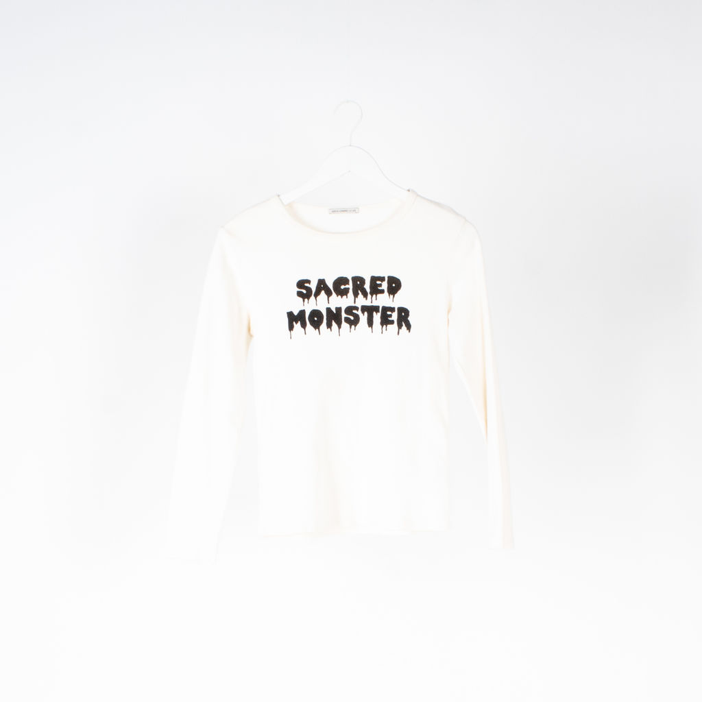 Alexa Chung for AG Sacred Monster Long Sleeve Tee