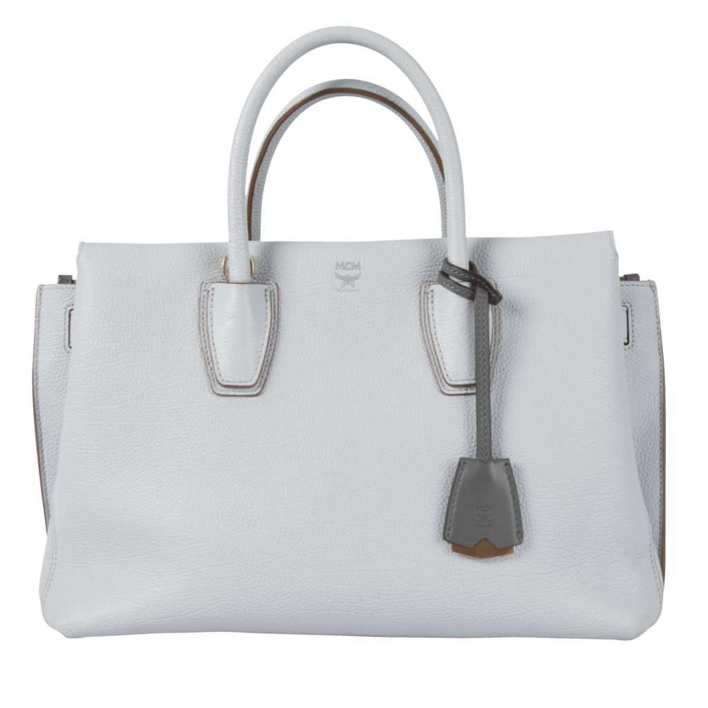 MCM Medium Millia Leather Tote