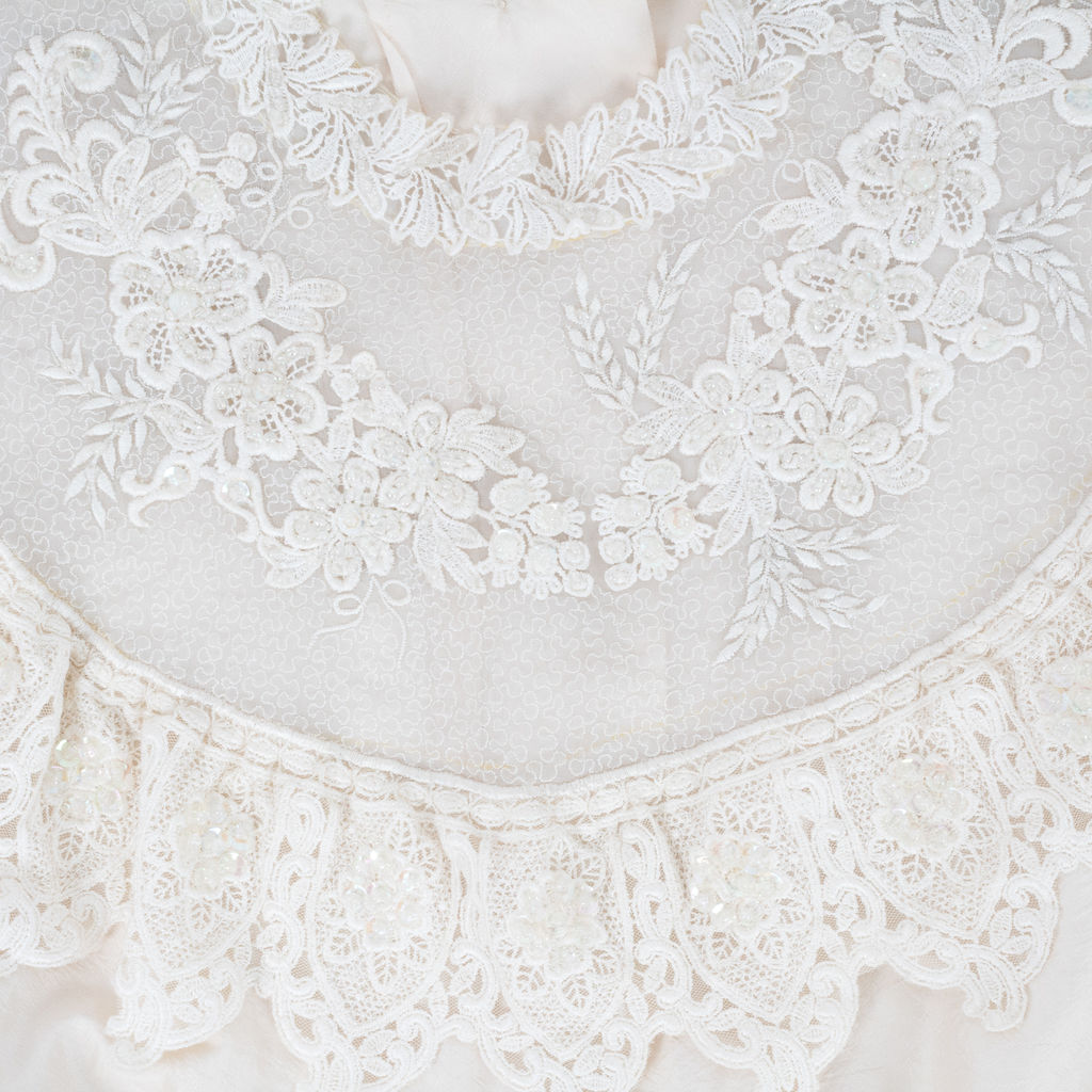 Vintage Lace Applique Blouse