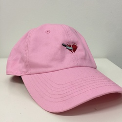 Stabbed in the Heart Dad Hat curated by Aluna Francis