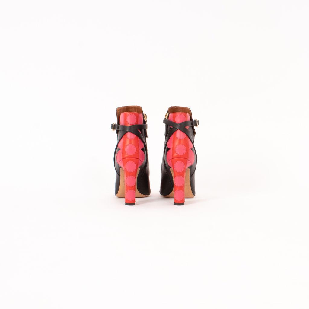 Valentino Carmen Leather Booties