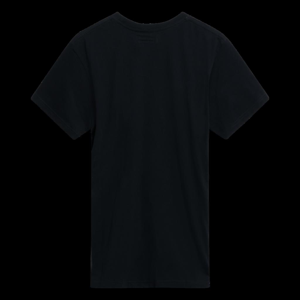 Benjamin.Edgar 'Optimistic' T-Shirt in Black/Red