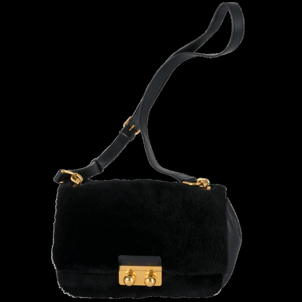Sonia Rykiel Crossbody Fur Bag
