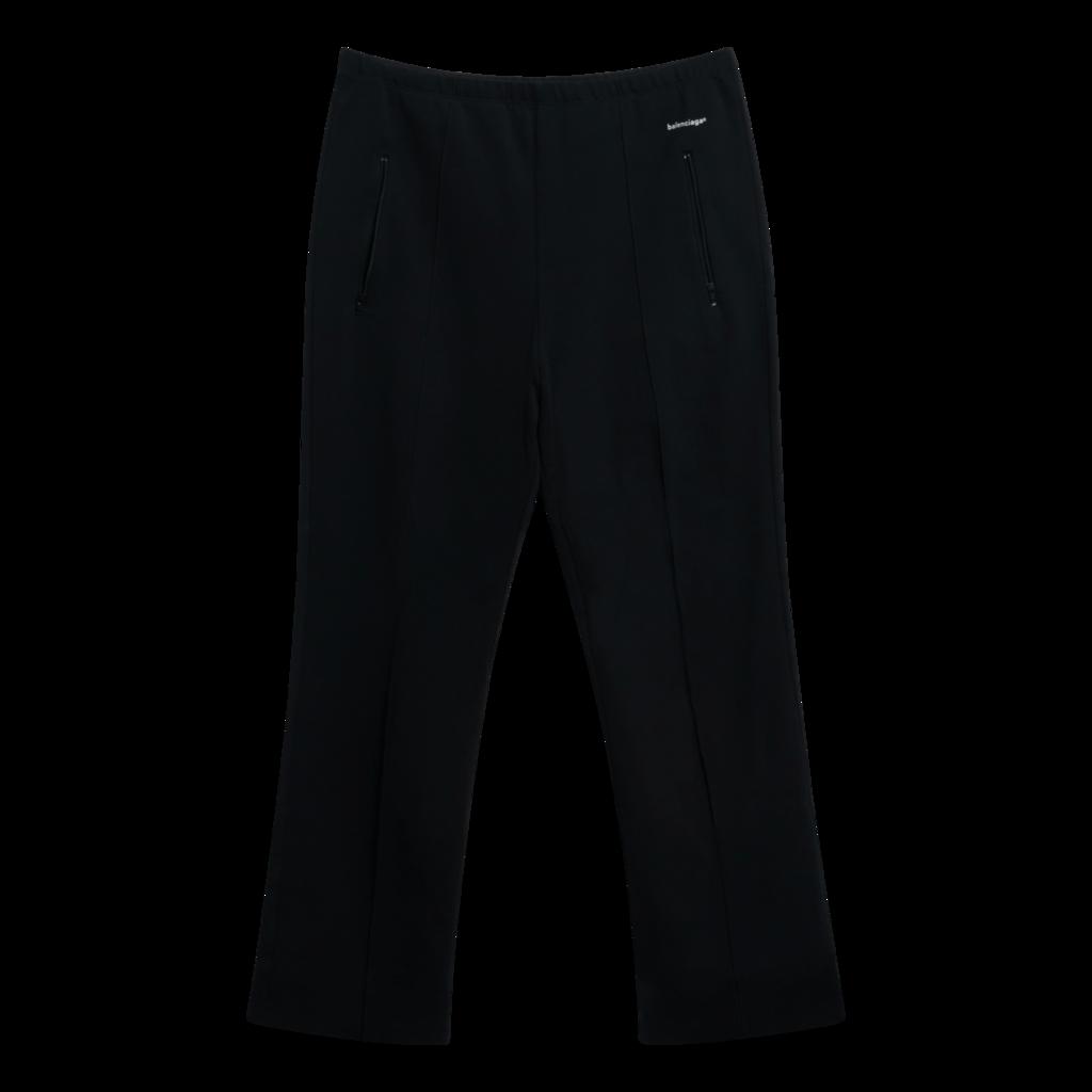 Balenciaga Black Logo-Print Track Pants