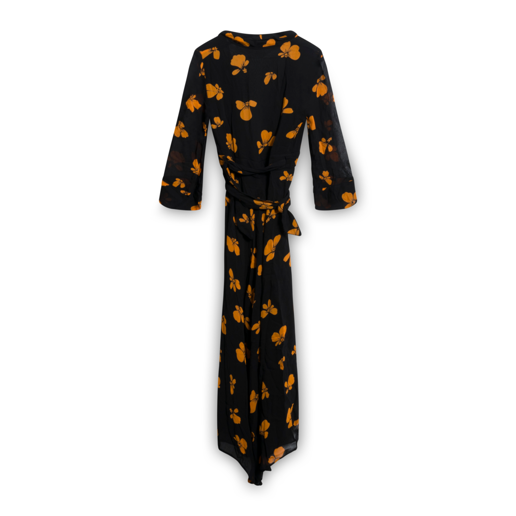 Ganni Fairfax Georgette Maxi Dress